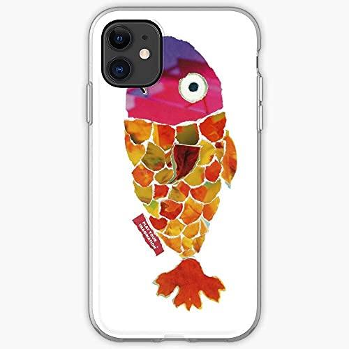 Paper Fish Color Popart Fancy Carp Cajas del Teléfono iPhone 12/11 Pro MAX 12 Mini SE X/XS MAX XR 8 7 6 6s Plus Funda Cover