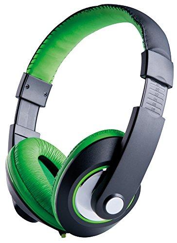 Grundig 52553 Stereo-Kopfhörer mit verstellbarem Bügel, Mehrfarbig
