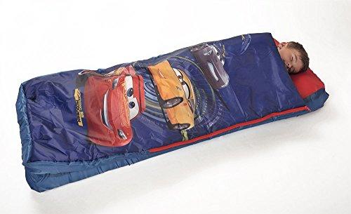 FUN HOUSE 712938 DISNEY CARS Lit d'appoint gonflable avec duvet pour enfant gonfleur inclus