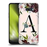 Official Nature Magick Letter A Rose Gold Flowers Monogram