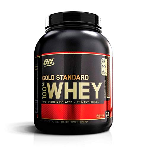 100% Whey Protein Gold Standard (2,270kg):Double Rich Chocolate