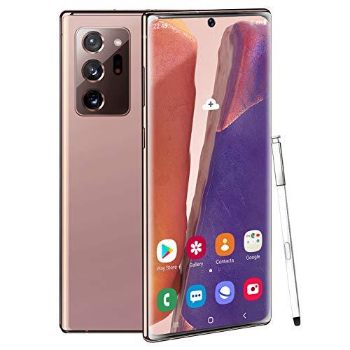 4G Smartphone N20U Android 10.0 Phone Sbloccato Dual SIM Card 2 GB RAM + 16/32 GB Rom Memoria Grande Telefono con Stilo 5500 mAh Batteria Grande 16MP + 24MP ID Viso Fotocamera