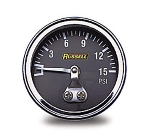 Russell Athletic - RUS-650350 Fuel Pressure Gauge Edelbrock Fuel Injection Kit