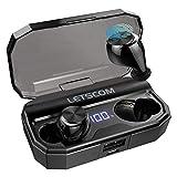Wireless Headphones, LETSCOM Bluetooth 5.0 Headphones 80 Hours Playtime, Deep Bass Stereo Sound