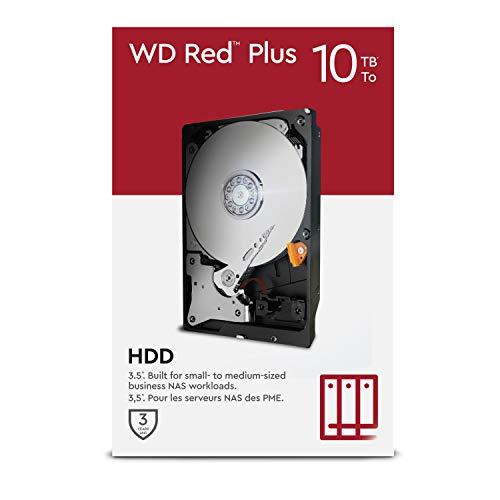 WD Red Plus 10 TB NAS 3.5