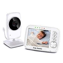 3.2/'/' BABY Babypflege Babyphone mit Intercom Überwachungs Kamera Video Monitor