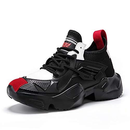 GSLMOLN Zapatillas de Deporte Hombres Running Zapatos para Correr Trail Gimnasio Ligero Transpirables Sneakers