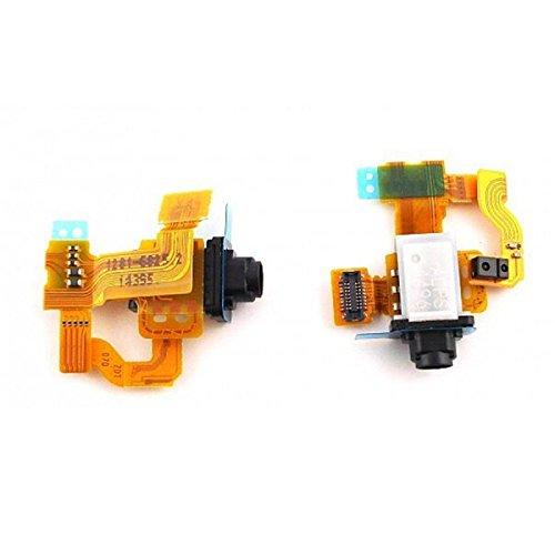 Wigento 3,5 mm Audio Anschluß Dichtung für Reparatur Sony Xperia Z3 Compact Sensor Flex Proximity Sensor