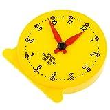 HomeDecTime Modelli di Orologio Materiale Didattico Attrezzo Educativo per Scuola
