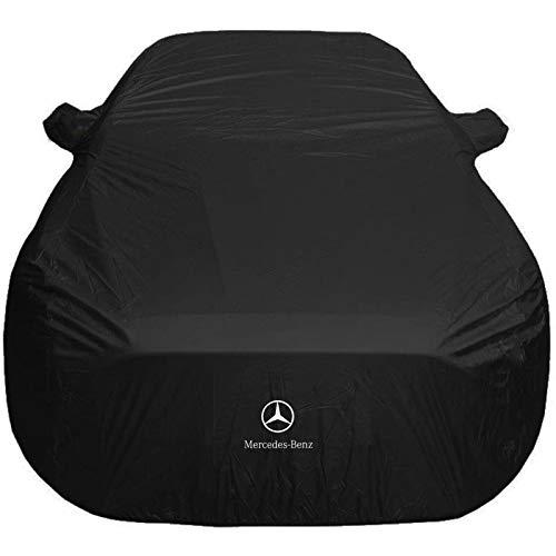 Telo Copriauto Compatibile con Mercedes Benz CLA CLC CLK CLS Telo Copriauto Antigrandine Telo Auto 100% Impermeabile Neve Grandine Gelo Polvere E Protezione Solare (Color : Black, Size : CLK)