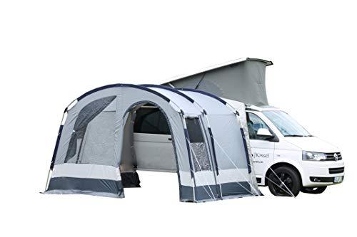 dwt Bus vorzelt Maxum Basic 350x250cm Camping Mobilzelt grau Outdoor leicht Tent Familienzelt Auto Teilzelt