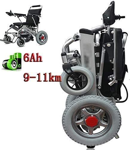 TYT La silla de ruedas eléctrica es ligera y plegable, con mando...