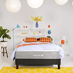 #1 FASTEST GROWING BRAND IN THE U.S. - Recognized as the fastest growing e-commerce retailer by Internet Retailer, Nectar is a memory foam bed-in-a-box mattress designed for every kind of sleeper. Nectar is part of the Resident House of Brands. TWO F...