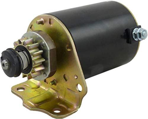 New Starter compatible with Briggs & Stratton 14 Tooth Steel Gear 693551, 693552 LG693551 5777