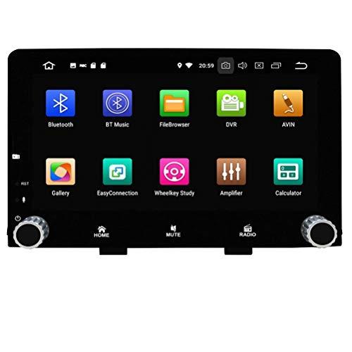 ROADYAKO Android 8.1 Auto Radio pour KIA Rio 2017 2018 Autoradio Stéréo avec Navigation GPS 3G WiFi Mirrorlink RDS FM AM Bluetooth Audio Vidéo