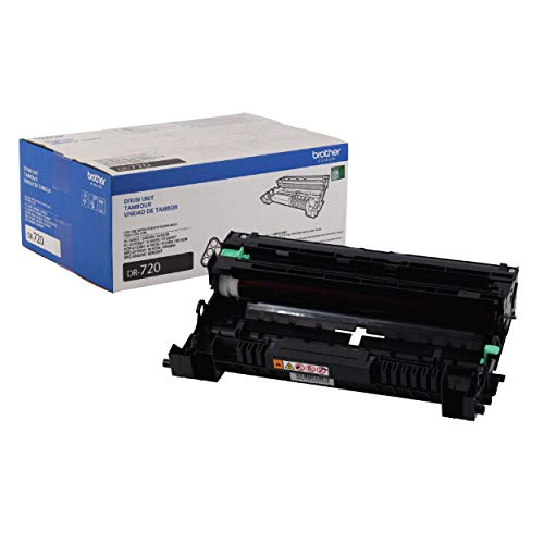 Brother Genuine Drum Unit, DR720, Seamless Integration, Yields Up to 30,000 Pages, Black