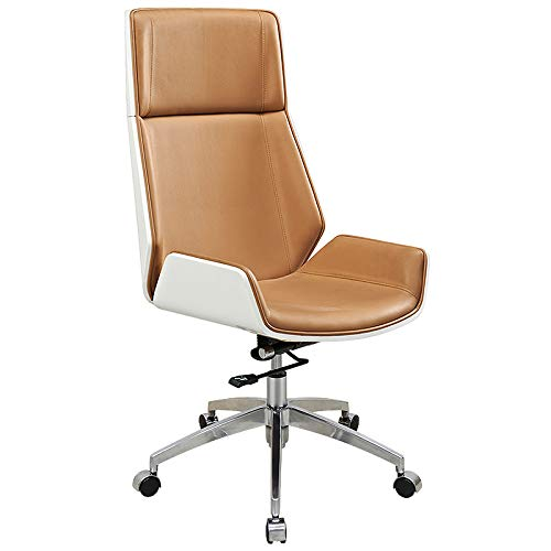 Office Chair Modern Minimalist backrest Chair Home Computer Chair Conference Swivel Chair Comfortable Leather Solid Wood boss Chair