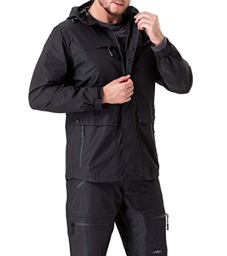 TRAILSIDE SUPPLY CO. Mens Winter Jackets and Coats - Insulated, Windproof, Waterproof