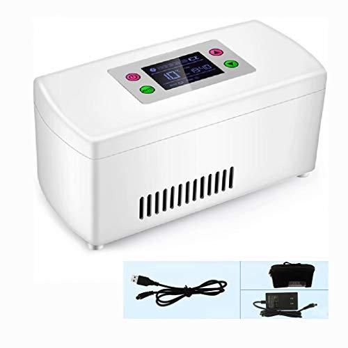 MNBX Medikamentenkühlschrank und Insulinkühler für Auto, Reise, Heim - Tragbarer Autokühlkoffer/Kleine Reisebox für Medikamente