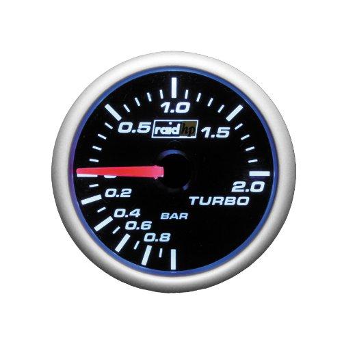 Raid HP 660181 Ladedruckanzeige, Zusatzinstrument Night Flight Blau