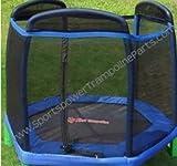 Sportspower Trampoline Enclosure Mesh Net ONLY for 88' MSC-3440-R- OEM Equipment