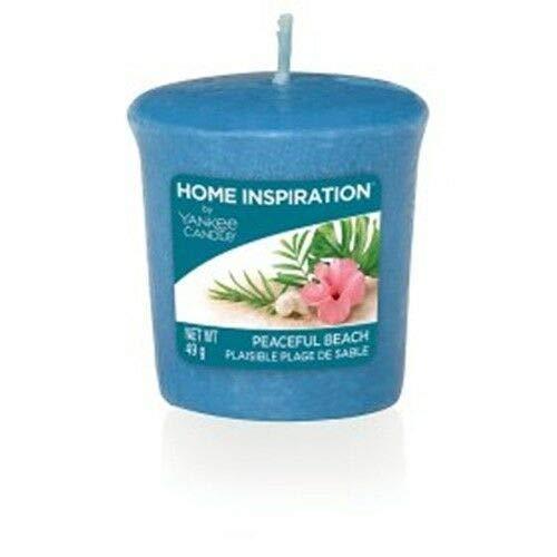 Yankee Candle Home Inspiration 6Stück Peaceful Beach Votiv Kerzen 49g