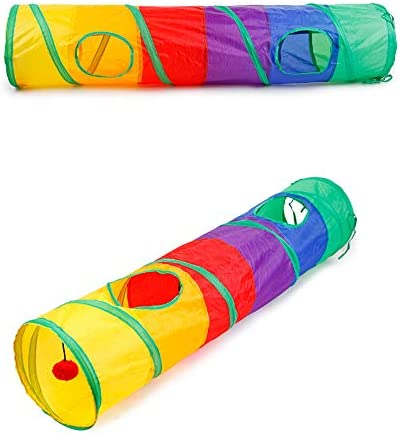 Cat Limited price Tunnel Toys Tunnels Indoor Selling rankings Cats for Colla