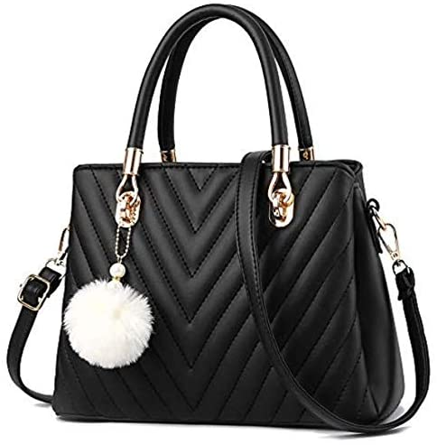 Daily bargain sale Womens Chicago Mall Fashion Leather Handbags Tote Top Shoulder Handle Bag