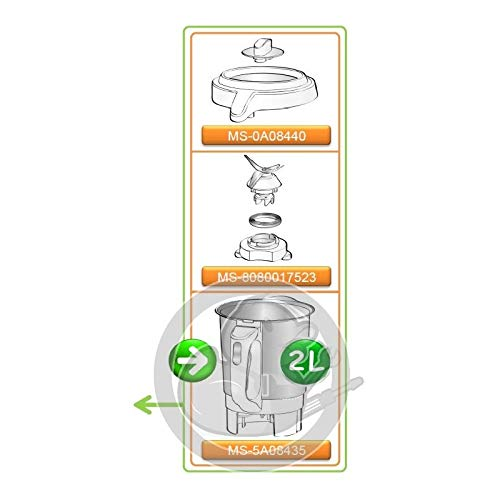 Bol Blender chauffant Soup and Co Moulinex MS-1600004956