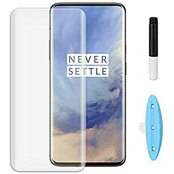 True Desire UV Tempered Glass For OnePlus 7 pro / one plus7t pro Full HD Curved Full Edge to edge And Free Camera Protector