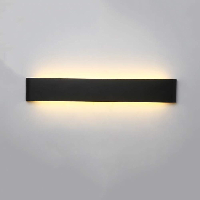 Oevina La Moda Luz de la Parojo de la Tira del LED, lámpara de Parojo Creativa del Ahorro de acrílico del Metal Ferroso para el Aplique de la Parojo de la Oficina del Estudio de la Sala de Estar