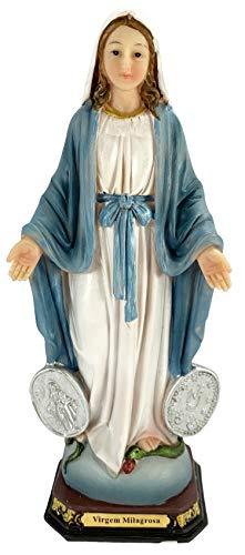 Desconocido Figura Resina Virgen Milagrosa Color 20 x 8 x 6 cms