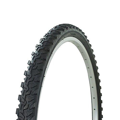"Fenix Cycles Wanda MTB Thraed P1033 Bicycle Tire, 26"", All Black, Various Sizes (26"" x 2.10"")"