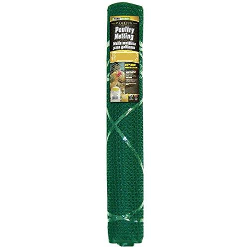 Yardgard 889242a Plastic Poultry Netting, Green, 3/4' Mesh, 2' X 25'