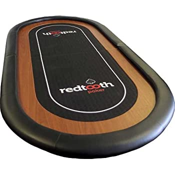 Redtooth Poker 8 Seat Speed Cloth Poker Table Top with Fold and Carry Case