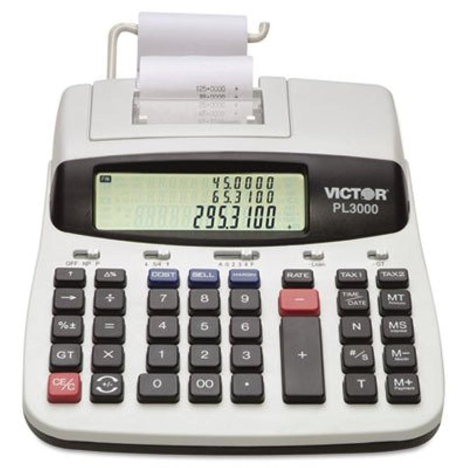 511776-PL3000 デスクトップ電卓 12桁 LCD 2色 ケースパック 1