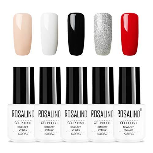 ROSALIND nackt Rosa Nagel Gel Polnisch 7ml Natur Serie reiner Farblack saugen Nagel UV-LED Gel-Lack