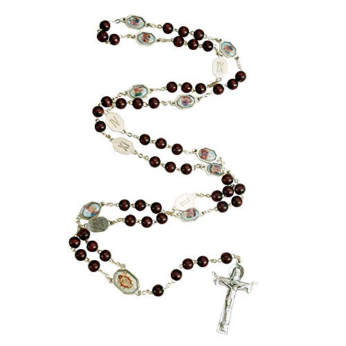 "Vatican Art 42"" Long Stations of The Cross Rosary 