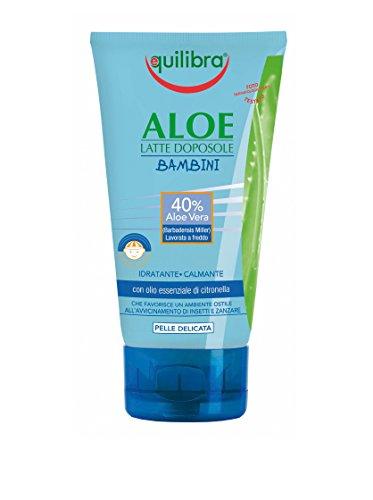 Equilibra Aloe Latte Doposole Bambini - Confezione da 6 Pezzo