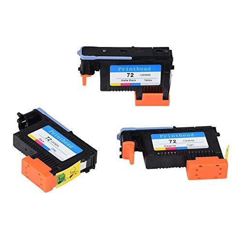 Vipxyc Druckkopfwechsel glatt und stabil ohne Papierstau Für Drucker(Black and Yellow + Gray Black + red and Blue)