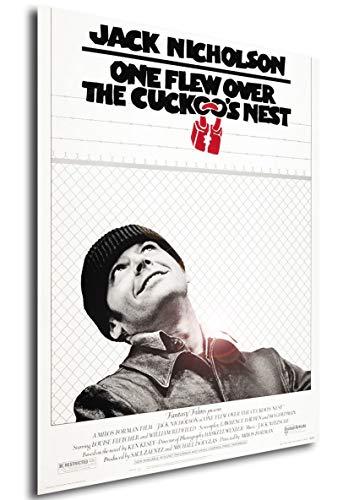 Instabuy Poster Locandina - Qualcuno volò sul Nido del cuculo - Formato (42x30 cm)