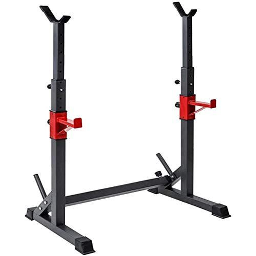 El entrenamiento de fuerza Peso Bastidores - soportar hasta 550 libras, Multi-Función Barra rack Dip base for el hogar aptitud de la gimnasia ajustable en cuclillas en rack Peso de elevación prensa de