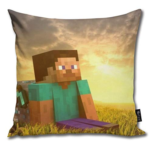 Pants Hats Mi-Necraft 47 Pattern Pillow-Home Decor Pillow Cover Bedroom Decorative Cushion Case For Living Sofas Square Pillow