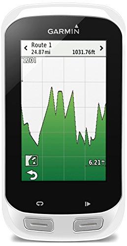 """Garmin Edge Explore 1000 - Computador para bicicleta (pantalla tactil de 3"""", GPS, IPX7) blanco"""