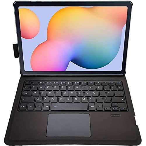 NB Capa ultrafina com teclado para Samsung P610/P615, capa de teclado de alumínio (TOUCHPAD Mouse) capa inteligente para Samsung Galaxy Tab S6 Lite (10,4 polegadas)