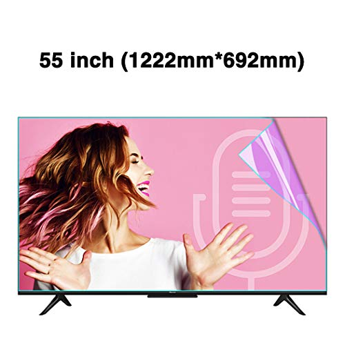 For Sale! JAY-LONG 55 Inches Anti-Blue Light Ultra-Clear TV Screen Protector/LED Screen Protector Fi...