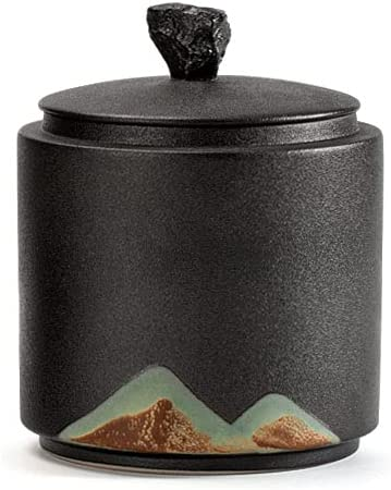 16cm Max 75% OFF Coarse Pottery Tea Caddy lowest price Storage Sealed Jar Household Puer