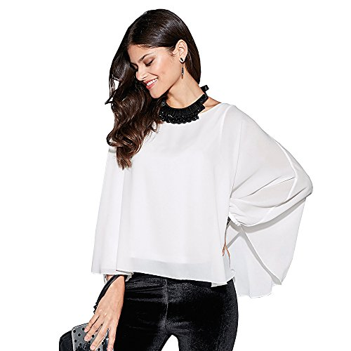VENCA Blusa Tipo Capa con Camiseta Interior en Punto Liso Mujer by VencaStyl - 007888