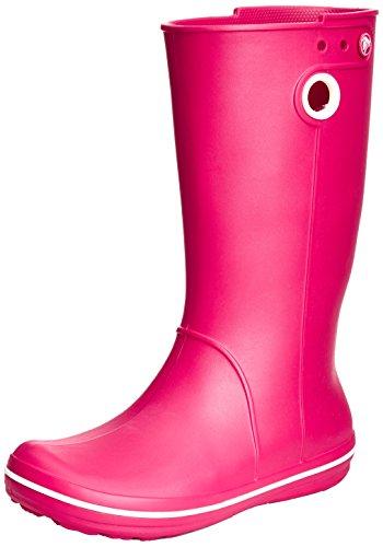 Crocs Crocs Crocband Jaunt Women, Damen Gummistiefel, Pink (Raspberry), 34/35 EU