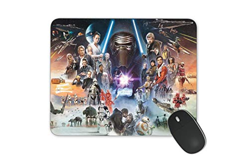 JNKPOAI Star Wars Mouse Pad Customized Rubber Mouse Pad Gaming Mouse Pad (Star Wars)